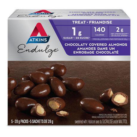 Atkins Endulge Chocolaty Covered  Almonds - image 1 of 3