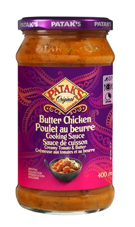 Patak's Butter Chicken Cooking Sauce - image 1 of 2