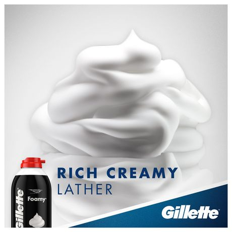 Gillette Foamy Regular Shaving Foam - image 4 of 7