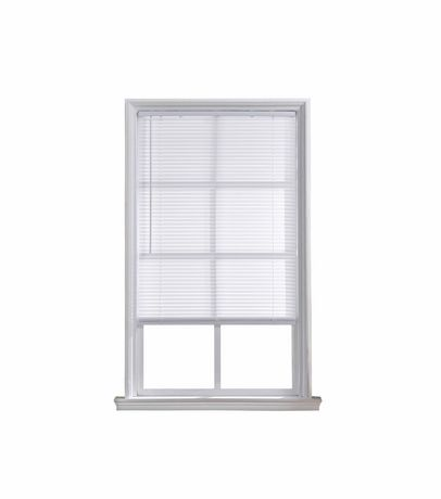 Mainstays 1 Cordless Light Filtering White Mini Blind Walmart Canada