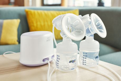 PHILIPS Avent Comfort Double Electric Breast Pump ...