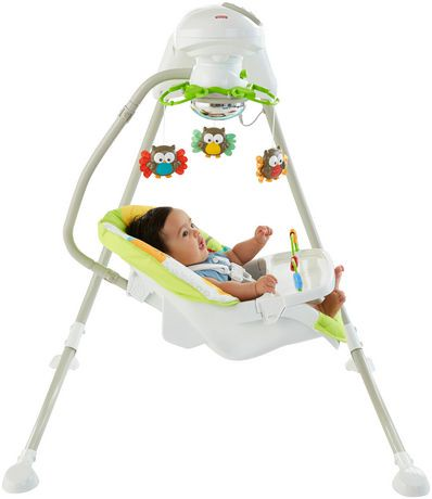 Fisher-Price Woodland Friends Cradle 'n Swing | Walmart Canada