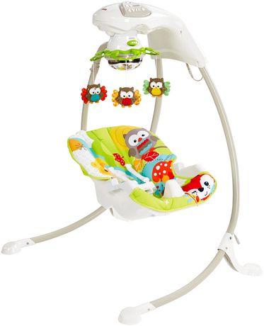 Fisher-Price Woodland Friends Cradle 'n Swing - image 4 of 5