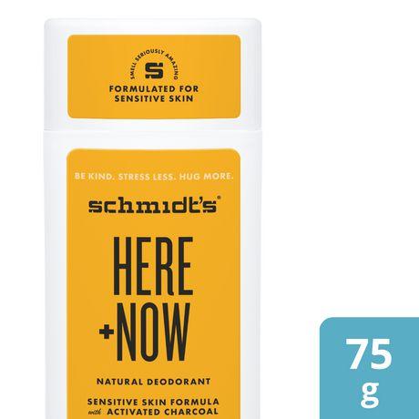Schmidt's Here + Now Natural Deodorant - image 1 of 6