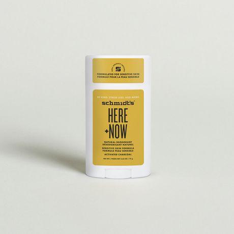 Schmidt's Here + Now Natural Deodorant - image 2 of 6