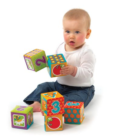 Playgro Splash And Learn Bath Soft Blocks - image 2 of 4