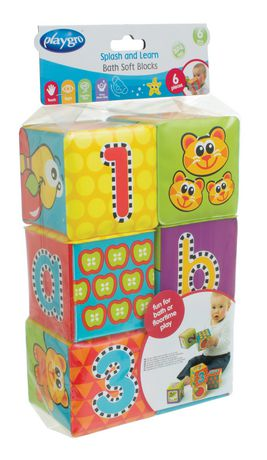 Playgro Splash And Learn Bath Soft Blocks - image 3 of 4