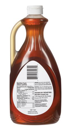 Great Value Light Table Syrup - image 2 of 2