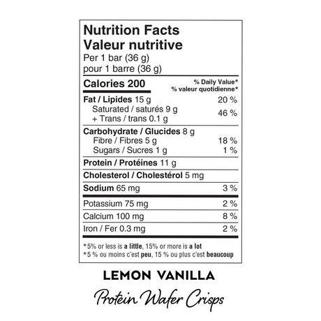 Atkins Lemon Vanilla Protein Wafer Crisps - image 3 of 3