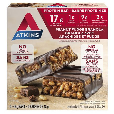 Atkins Peanut Fudge Granola Protein Bar - image 1 of 4