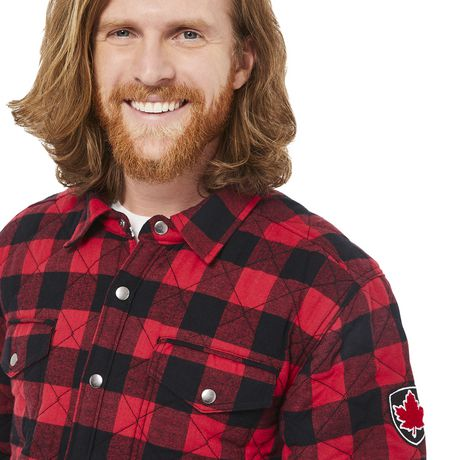 Canadiana Men's Flannel Shirt Jacket - image 4 of 6
