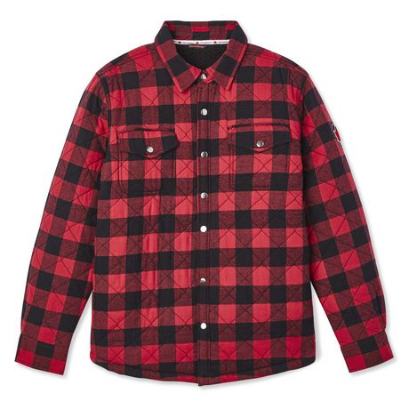 Canadiana Men's Flannel Shirt Jacket - image 6 of 6