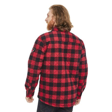 Canadiana Men's Flannel Shirt Jacket - image 3 of 6