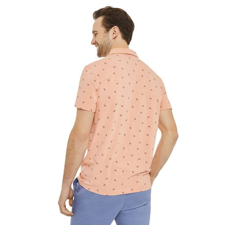 George Men's Printed Stretch Jersey Polo - image 3 of 6