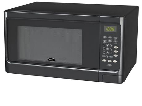 Oster 1.1 cu ft Microwave Black - image 1 of 1