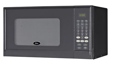 Oster 0.9 cu ft Microwave Black - image 1 of 1