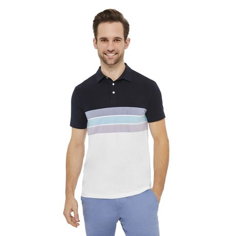 George Men's Stretch Jersey Polo - image 1 of 6