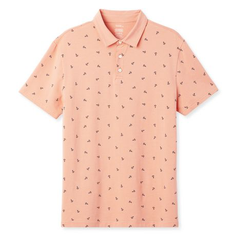 George Men's Printed Stretch Jersey Polo - image 6 of 6