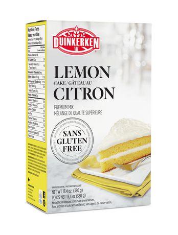 Duinkerken Foods Gluten Free Lemon Cake Mix Walmart Canada