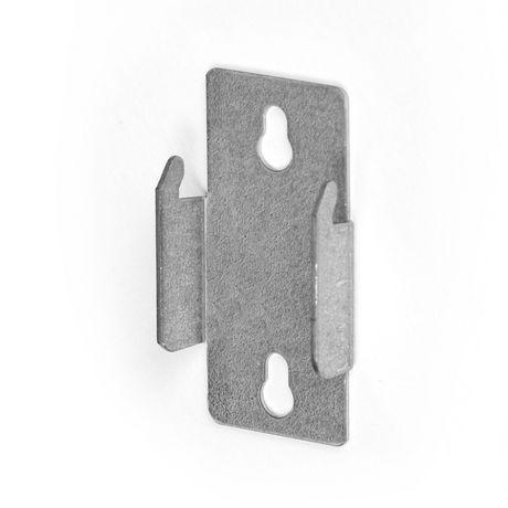 Mainstays Double Curtain Rod Bracket, Set of 2 - image 1 of 1