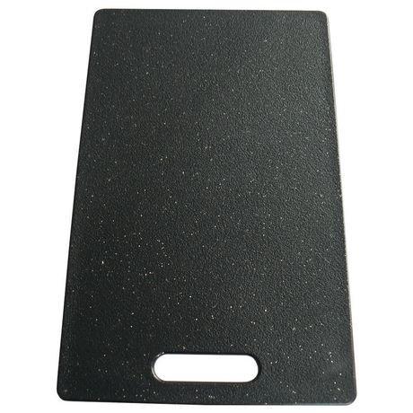 planche d couper grande epicure 23 cm x 38 cm x 9 5 mm en poly granit noir walmart canada. Black Bedroom Furniture Sets. Home Design Ideas