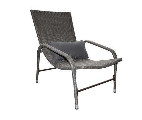 chaise soleil ariel de patio flare avec coussin lombaire walmart canada. Black Bedroom Furniture Sets. Home Design Ideas