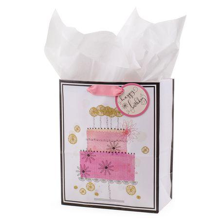 Hallmark Medium Birthday Gift Bag With Tissue Paper