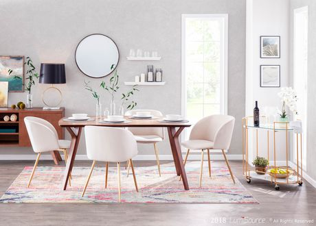 Fran Contemporary Chair by LumiSource - image 8 of 9