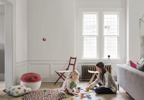 Thermostat intelligent Nest de 3e génération en acier inoxydable - image 4 de 5
