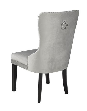 Chaise de salle a manger Verona, gris - image 2 de 2
