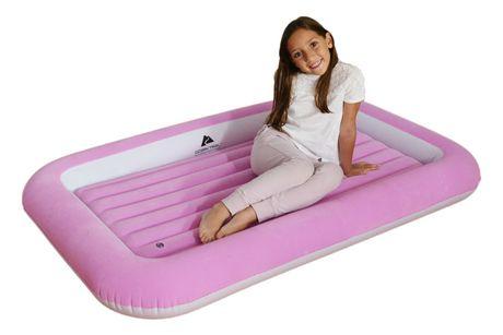 Ozark Trail Kid's Flocked Air Bed - Pink - image 1 of 3