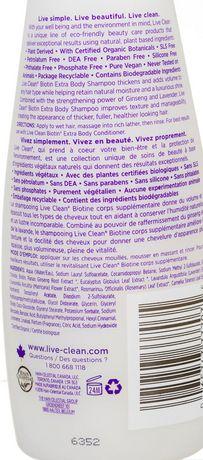 Live Clean Biotin Shampoo - image 2 of 2