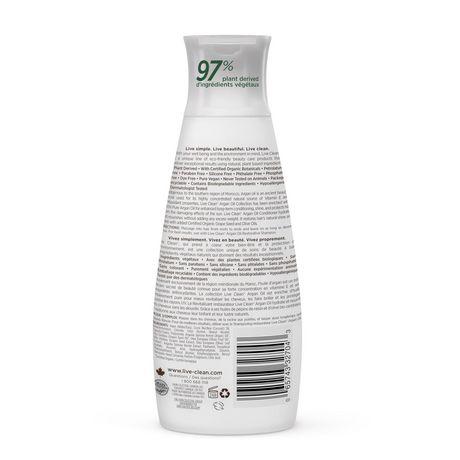 Live Clean Exotic Nectar Argan Oil Restorative Conditioner - image 2 of 3
