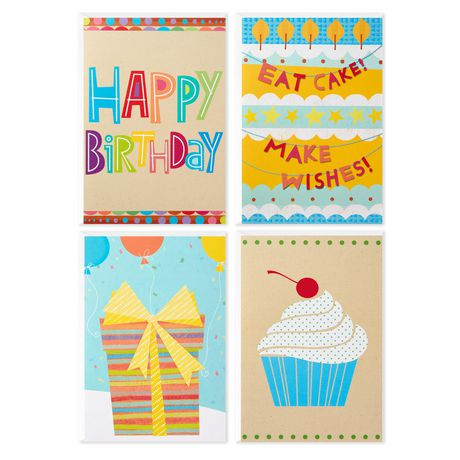 Hallmark Assorted Birthday Icons Greeting Cards