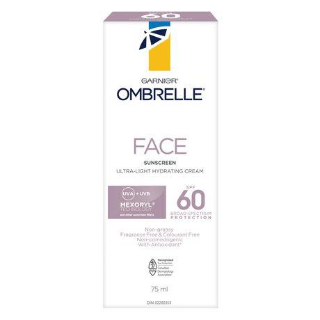 L'oreal Ombrelle Face Ultra-Light Cream - Spf 60 - image 4 of 5