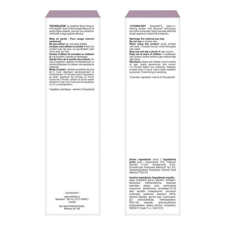 L'oreal Ombrelle Face Ultra-Light Cream - Spf 60 - image 5 of 5