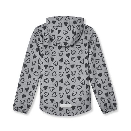 Athletic Works Girls' Bonded Jacket - image 2 of 2