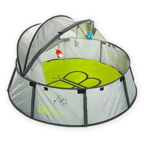 Bbl 252 V Nid 246 2 In 1 Travel Amp Play Tent Walmart Canada