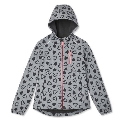 Athletic Works Girls' Bonded Jacket - image 1 of 2