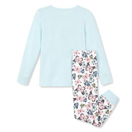 George Toddler Girls' 2-Piece Pyjama Set - image 2 of 2