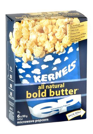 Kernels All Natural Bold Butter Popcorn - image 1 of 3