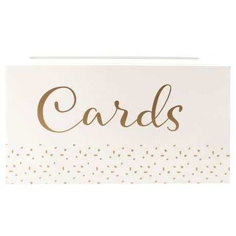 Boîte De Cartes Cadeaux De Mariage Take A Vow