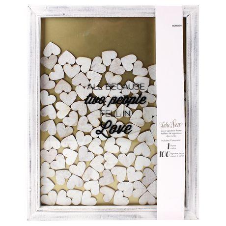 Take A Vow Guest Book Frame | Walmart Canada