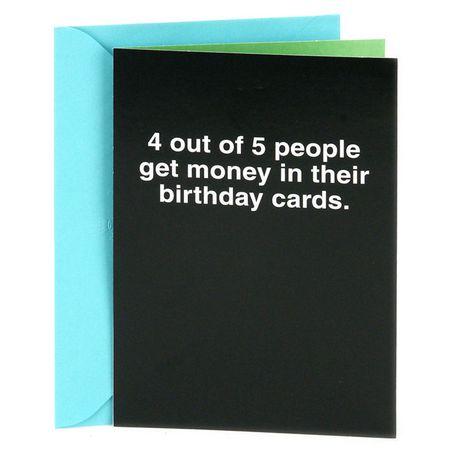 Hallmark Shoebox Funny Birthday Greeting Card