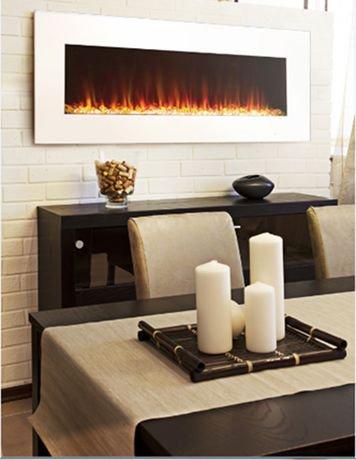 Paramount Premium 42 Quot Slim Wall Mount Electric Fireplace