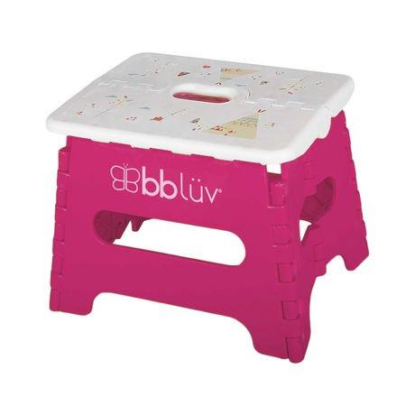 Bbl 252 V St 235 P Pink Folding Step Stool Walmart Canada