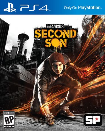 infamous second son ps4 game walmart canada. Black Bedroom Furniture Sets. Home Design Ideas