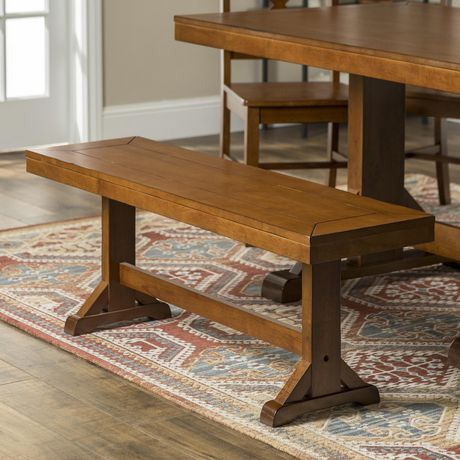 Phenomenal Manor Park Rustic Farmhouse 3 Person Dining Bench Multiple Finishes Onthecornerstone Fun Painted Chair Ideas Images Onthecornerstoneorg