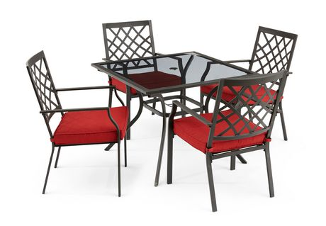 Hometrends Montclair 5 Piece Dining Set Walmart Canada