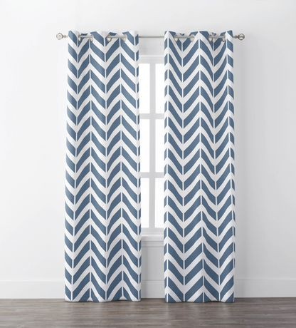 chevron living room curtains mainstays chevron geo window curtains walmart canada 15325